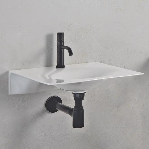 Scarabeo Veil Waschbecken B: 60,5 T: 46 cm weiß, ohne Handtuchhalter 6102
