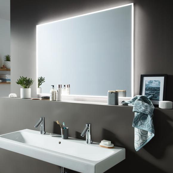 Sprinz Smart-Line 4.0 Spiegel B: 120 H: 85 cm, mit LED-Beleuchtung SL408501200NW, EEK: A+