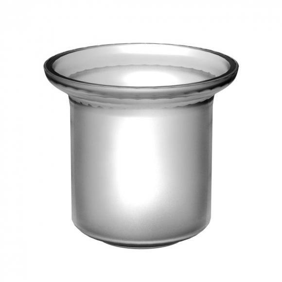 Treos Serie 505 / Serie 555 Ersatzglas für Toilettenbürstengarnitur 035.07.0002