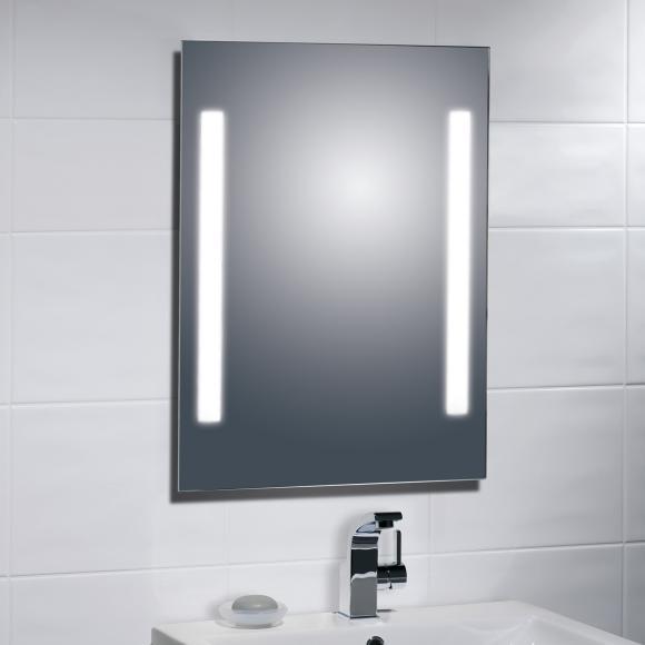 Treos Serie 614 LED Wandspiegel hinterleuchtet B: 60 H: 80 cm 614.06.8060, EEK: A+