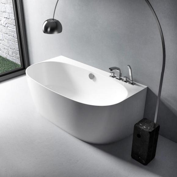 Treos Serie 710 Vorwand-Badewanne mit Verkleidung L: 158 B: 86 H: 58 cm 710.04.1586