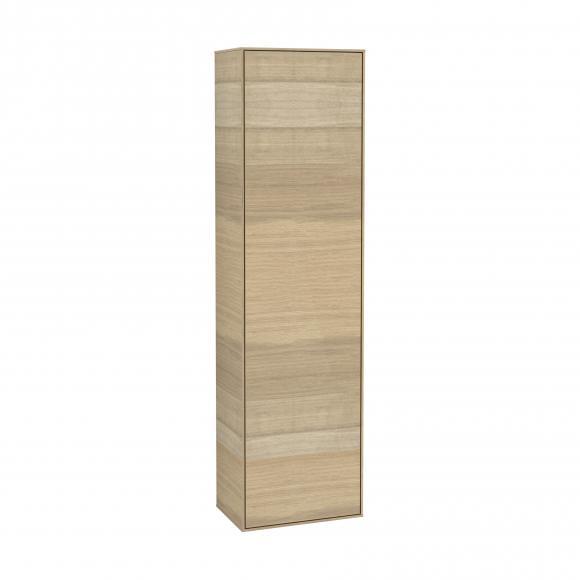 Villeroy & Boch Finion LED-Hochschrank B: 41,8 H: 151,6 T: 27 cm, 1 Tür, Anschlag rechts Front oak veneer / Korpus oak veneer G49000PC, EEK: A+