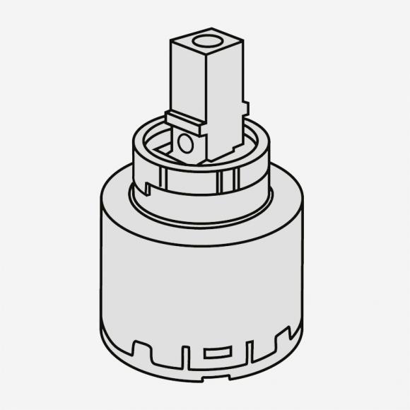 Villeroy & Boch Kartusche, für Niederdruck-Einhand-Spültischbatterie 82996500