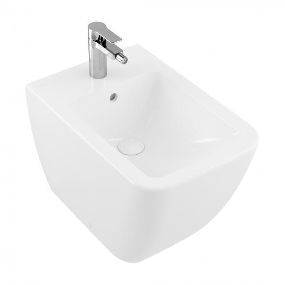 Villeroy & Boch Venticello Stand-Bidet L: 56 B: 37,5 cm stone white mit CeramicPlus 441200RW