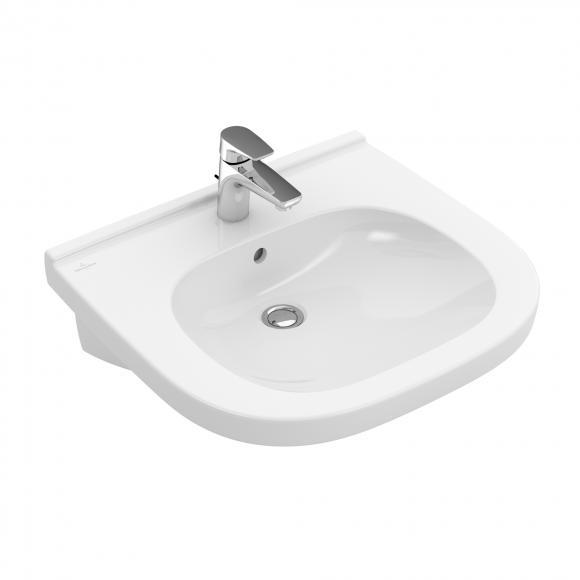 Villeroy & Boch ViCare Waschtisch, unterfahrbar, B: 60 T: 55 cm weiß 41196001
