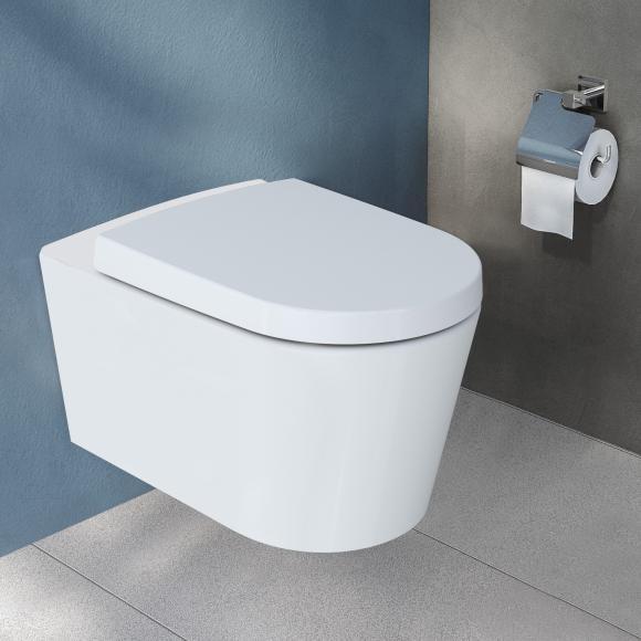 VitrA Options Nest Wand-Tiefspül-WC mit Bidetfunktion, 5173B003-0559