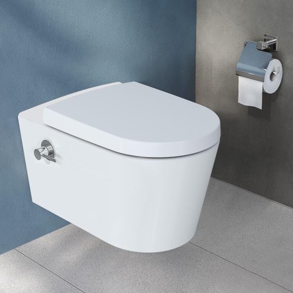 VitrA Options Nest Wand-Tiefspül-WC mit Bidetfunktion, 5176B403-1684
