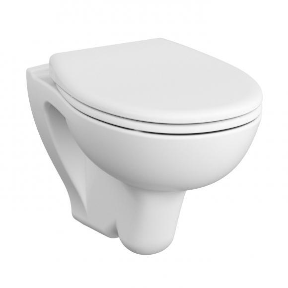 VitrA S20 Wand-Tiefspül-WC L: 52 B: 35,5 cm mit Bidetfunktion weiß 7641L003-0850