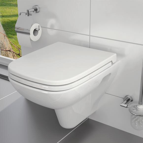 VitrA S20 Wand-Tiefspül-WC L: 52 B: 36 cm mit Bidetfunktion weiß 5507B003-0850