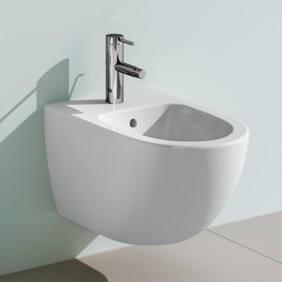 VitrA Sento Wand-Bidet L: 54 B: 36,5 cm weiß, mit VitrAclean 4338B403-1046