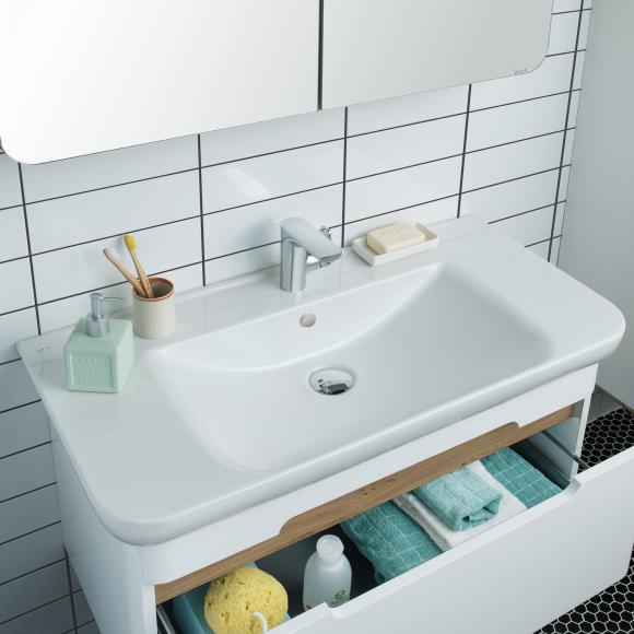 VitrA Sento Waschtisch B: 98 T: 48,5 cm weiß, mit VitrAclean 5948B403-0001