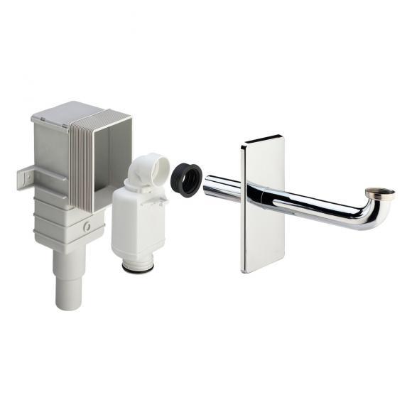 Viega Geruchsverschluss für Unterputz-Wandmontage chrom 553753