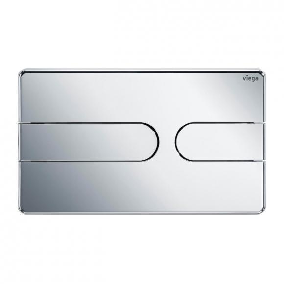 Viega Visign for Style 23 WC-Betätigungsplatte chrom/chrom, Kunststoff/Kunststoff 773052