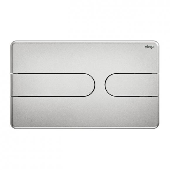 Viega Visign for Style 23 WC-Betätigungsplatte edelmatt/edelmatt, Kunststoff/Kunststoff 773069