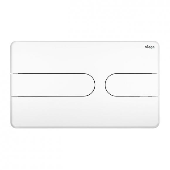 Viega Visign for Style 23 WC-Betätigungsplatte weiß/weiß, Kunststoff/Kunststoff 773151