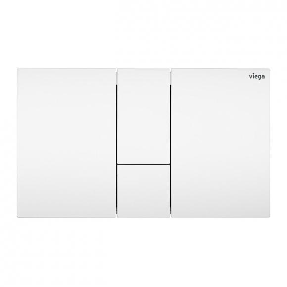 Viega Visign for Style 24 WC-Betätigungsplatte weiß/weiß, Kunststoff/Kunststoff 773281