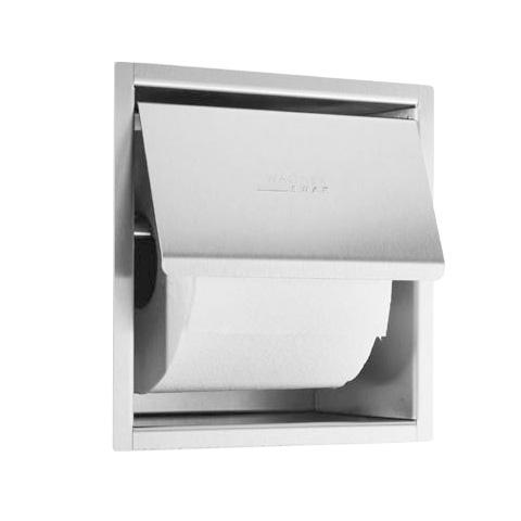 Wagner-Ewar A-Linie Unterputz Toilettenpapierhalter B: 163 H: 170 T: 100 mm weiß 728740