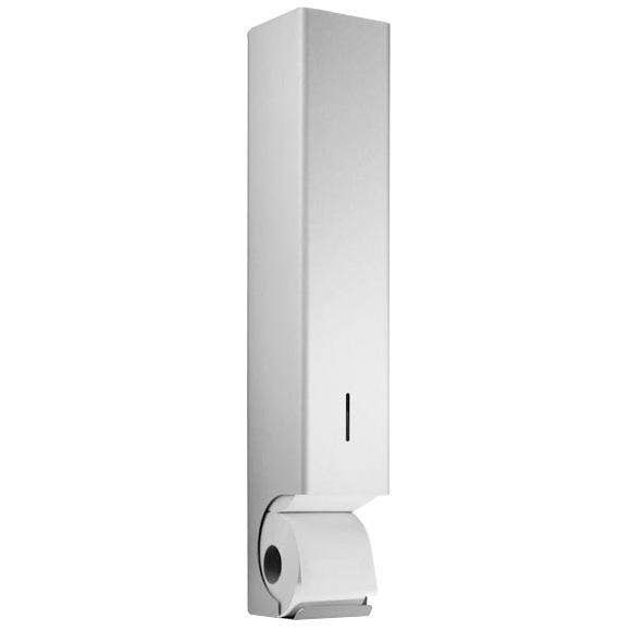 Wagner-Ewar Toilettenpapierrollen-Vorratsbehälter WP 168 B: 120 H: 680 T: 130 mm edelstahl matt geschliffen 727168